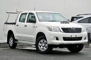 2012 Toyota Hilux KUN26R MY12 SR Double Cab White 4 Speed Automatic Utility Tweed Heads South Tweed Heads Area Preview