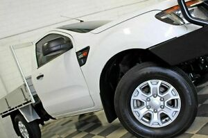 2012 Ford Ranger PX XL 3.2 (4x4) White 6 Speed Automatic Cab Chassis Burleigh Heads Gold Coast South Preview
