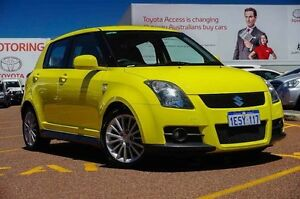 2009 Suzuki Swift RS416 Sport Yellow 5 Speed Manual Hatchback Westminster Stirling Area Preview