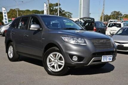 2012 Hyundai Santa Fe CM MY12 SLX Silver 6 Speed Auto Seq Sportshift Wagon Myaree Melville Area Preview