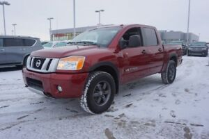 2015 Nissan Titan 4X4 CREWCAB PRO-4X Navigation (GPS),  Leather,