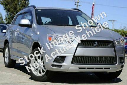 2012 Mitsubishi ASX XA MY12 2WD Silver 6 Speed Constant Variable Wagon Slacks Creek Logan Area Preview