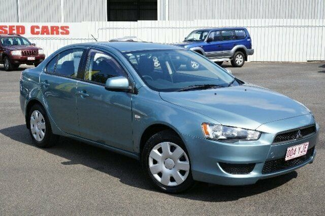 2010 Mitsubishi Lancer CJ MY10 ES Blue 5 Speed Manual Sedan