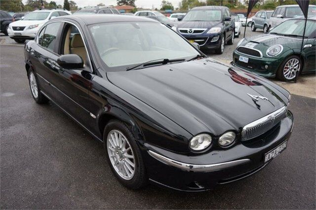2006 Jaguar X Type X400 MY05 SE Black Automatic Sedan