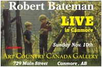 Robert Bateman Live in Person in Canmore at Art Country Canada