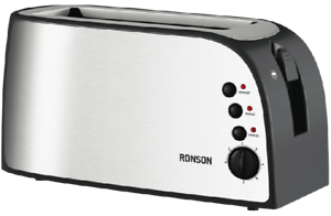 4 Slice Stainless Steel Long Slot Toaster $25 Near New,  WAS $63