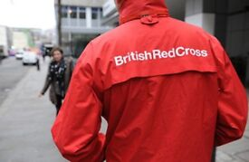 BRITISH RED CROSS - Door to Door Lottery Promotor - £9.75-13ph, Weekly Pay! Immediate Start!