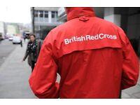Door to Door Fundraiser – British Red Cross. £9.75-13ph – Weekly Pay, Immediate Start!
