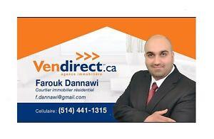 courtier immobilier, prêt hypothéque, service complet !!!