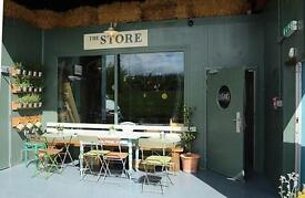 The Store requires an experienced cafe professional with retail experience and great barista skills