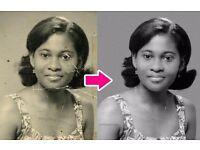 Photo Restoration, Photo Retouching, Photo Editing & Photoshop