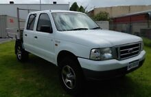 04 Ford Courier 4x4 TurboDiesel Dual Cab with NO DEPOSIT FINANCE* O'Connor Fremantle Area Preview