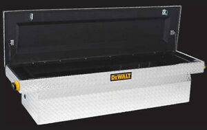 Dewalt diamond plated tool chest for full size pick up trucks