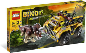 Lego Dino 5885 Triceratops Trapper Brand New ReTiReD FREE SHIPPING HTF Sealed
