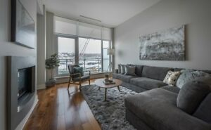 Spacious 1 BR Condo King's Wharf available Oct 1st