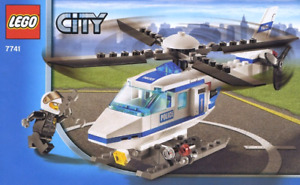Lego City Police Helictopter 7741