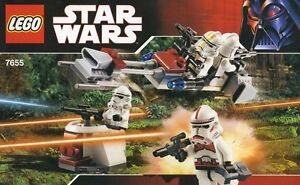 Lego Star Wars 7655 Clone Troopers Battle Pack