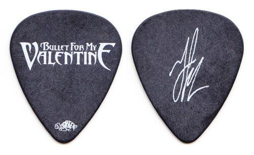 Bullet For My Valentine Jason James Signature Black Guitar Pick - 2010 Tour