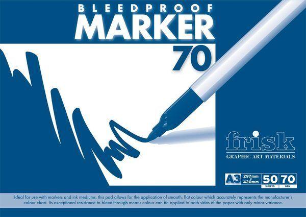 Frisk Bleedproof Marker Pad - A3