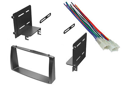 2003-08 Toyota Corolla Car Stereo Dash Kit Radio Cd Install Mount + Wire Harness
