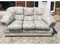3 seater Fabric sofa - good condition - £70