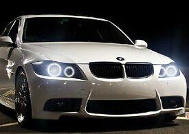 Error Free CREE H8 LED Angel Eyes LED MARKER BMW 80W