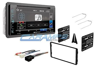 "NEW SOUNDSTREAM 6.2"" BLUETOOTH CAR STEREO RADIO & SMARTPHONE INTG WITH DASH KIT"