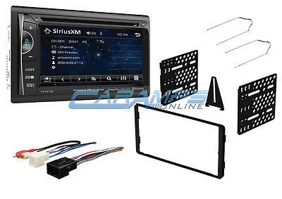 "NEW POWER ACOUSTIK 6.2"" SIRIUS XM RADIO W BLUETOOTH STEREO & AUX/USB W DASH KIT"