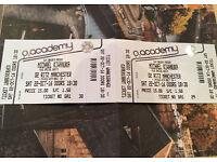 2 x Michael Kiwanuka tickets in Manchester