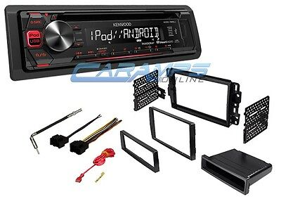 New Kenwood Stereo Cd Player With Usb   Aux Input Radio W  Install Kit   Harness