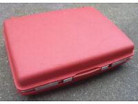 Vintage Red Hard Case Samsonite Saturn Suitcase