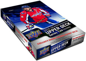 2015-16 UPPER DECK SERIES 2 HOCKEY HOBBY BOX FACTORY SEAL
