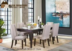 Dining Set with blend of grey (7 PC Set) (MA529)
