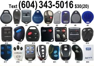 Electronic Key Fob Copies