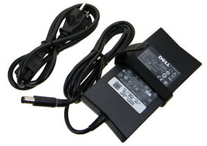 Genuine and Newer Dell Slim Charger, 19.5V 4.62a 90W