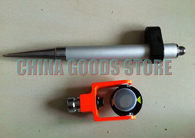 New Mini Prism And Mini Pole 58x11 Thread For Surveyconstruction Total Station