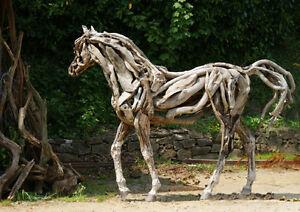 Statue cheval grandeur nature