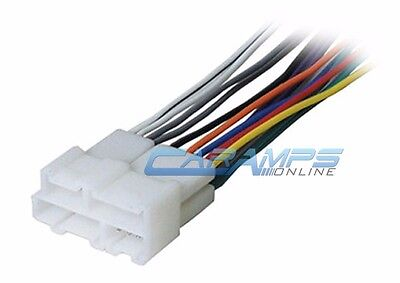 NEW CAR STEREO CD PLAYER WIRING HARNESS WIRE ADAPTER PLUG FOR AFTERMARKET (Radio Wire Harness Buick Park)