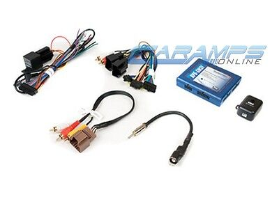 CAR STEREO AUDIO RADIO CD DVD PLAYER INSTALLATION INTERFACE W/ WIRE HARNESS