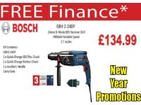 BOSCH GBH2-24DF SDS+ 3 MODE ROTARY HAMMER 240V QUICK CHANGE CHUCK