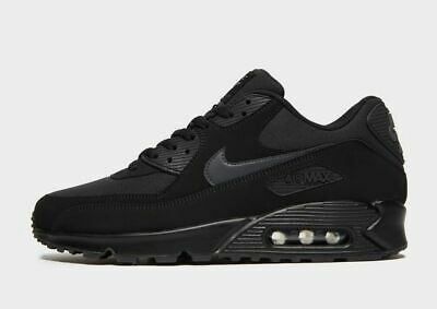 NIKE AIR MAX 90 Essential BLACK MENS 6-11 UK SIZES BNIB (95 97 Ultra TN)
