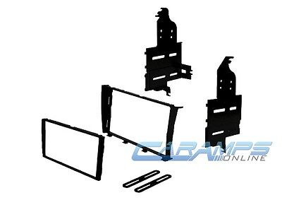 DOUBLE 2 DIN CAR STEREO RADIO DASH INSTALL MOUNTING KIT DASH INSTALLATION - 2 Din Install Kit