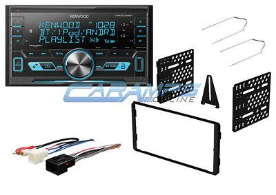 KENWOOD CAR STEREO SIRIUS XM RADIO WITH USB/AUX INPUTS W/ DASH KIT & BLUETOOTH