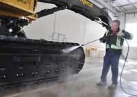 Recherche homme d'entrepôt pour nettoyage de machinerie