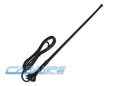 NEW UNIVERSAL CAR STEREO AM/FM RUBBER ANTENNA ROOF FENDER TRUCKS AUDIO BOOSTER