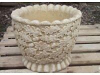 Oak Leaf pots