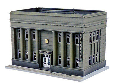 Tomytec (Building 035-2) Bank B (Community Bank & Trust) 1/150 N scale
