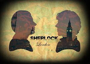 SHERLOCK-HOLMES-Poster-Print-Benedict-Cumberbatch-Martin-Freeman-Dr-John-Watson