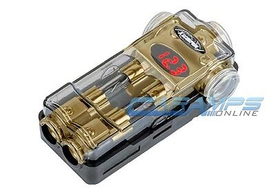 XSCORPION GOLD DIGITAL POWER AGU DISTRIBUTION BLOCK 2/4 IN TWO 4/8 GAUGE OUT