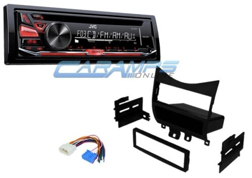new jvc car stereo radio deck with complete installation. Black Bedroom Furniture Sets. Home Design Ideas